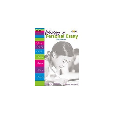 Teaching and Learning Company Writing A Personal Essay Language Arts Workbook, Grade 5 - Grade 8 [Enhanced eBook]
