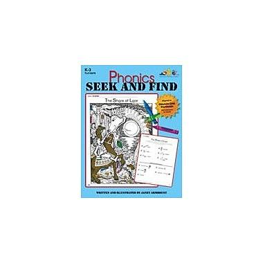 Teaching and Learning Company Phonics Seek and Find Language Arts Workbook, Kindergarten - Grade 3 [eBook]