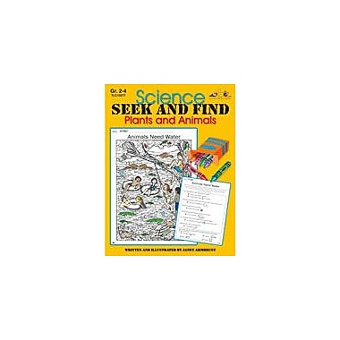 Teaching and Learning Company Science Seek and Find Plants and Animals Science Workbook, Grade 2 - Grade 4 [Enhanced eBook]