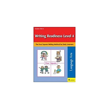 Teaching and Learning Company Writing Readiness Level 4 Reading & Writing Workbook, Kindergarten [eBook]