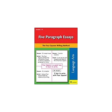 Teaching and Learning Company Five Paragraph Essays Reading & Writing Workbook, Grade 1 - Grade 3 [eBook]