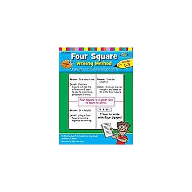 Teaching and Learning Company Four Square Writing Method Grades 1-3 [With Support Files] Workbook [Enhanced eBook]