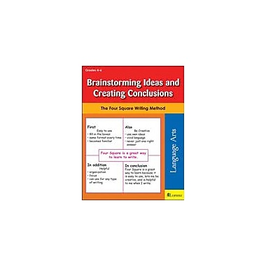 Teaching and Learning Company Brainstorming Ideas and Creating Conclusions Reading & Writing Workbook, Grade 4 - Grade 6 [eBook]