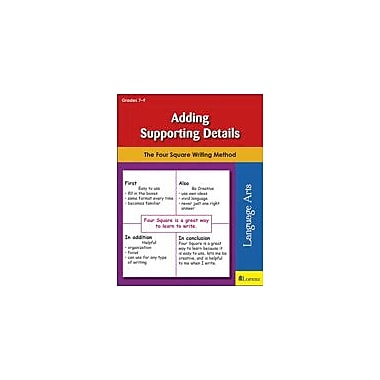 Teaching and Learning Company Adding Supporting Details Reading & Writing Workbook, Grade 7 - Grade 9 [eBook]