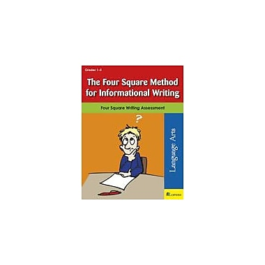 Teaching and Learning Company The Four Square Method for Informational Writing Workbook, Grade 1 - Grade 5 [eBook]