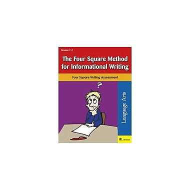 Teaching and Learning Company The Four Square Method for Informational Writing Workbook, Grade 7 - Grade 9 [eBook]