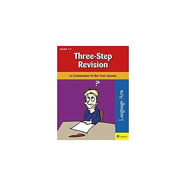 Teaching and Learning Company Three-Step Revision Reading & Writing Workbook, Grade 7 - Grade 9 [eBook]