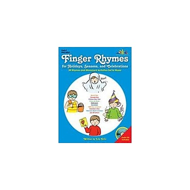 Teaching and Learning Company Finger Rhymes For Holidays, Seasons, and Celebrations Workbook, Preschool - Kindergarten [eBook]