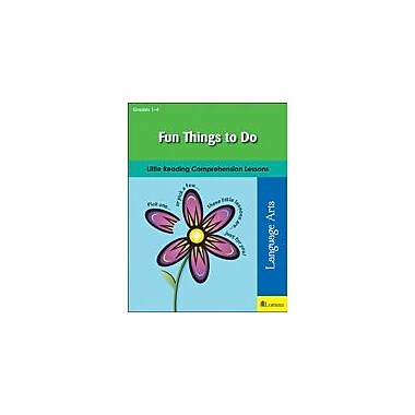 Teaching and Learning Company Fun Things to Do Reading & Writing Workbook, Grade 1 - Grade 4 [eBook]