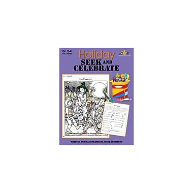 Teaching and Learning Company Holiday Seek and Celebrate Social Studies Workbook, Grade 2 - Grade 4 [eBook]
