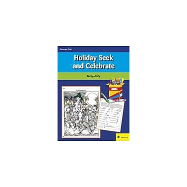 Teaching and Learning Company Holiday Seek and Celebrate: May-July Puzzles Workbook, Grade 2 - Grade 4 [eBook]
