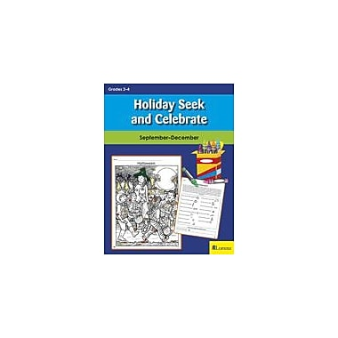 Teaching and Learning Company Holiday Seek and Celebrate: September-December Puzzles Workbook, Grade 2 - Grade 4 [eBook]