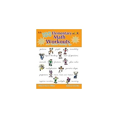 Teaching and Learning Company 100 Elementary Math Workouts Math Workbook, Grade 4 - Grade 6 [eBook]