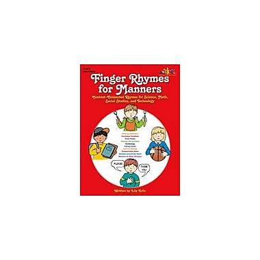 Teaching and Learning Company Finger Rhymes For Manners Art & Music Workbook, Preschool - Kindergarten [Enhanced eBook]