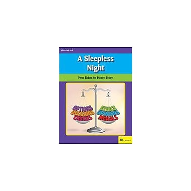 Teaching and Learning Company A Sleepless Night Character & Social Skills Workbook, Grade 6 - Grade 8 [eBook]