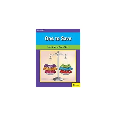 Teaching and Learning Company One to Save Character & Social Skills Workbook, Grade 6 - Grade 8 [eBook]