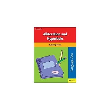Teaching and Learning Company Alliteration and Hyperbole Reading & Writing Workbook, Grade 1 - Grade 4 [eBook]