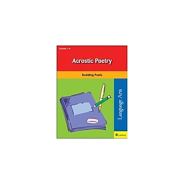 Teaching and Learning Company Acrostic Poetry Reading & Writing Workbook, Grade 1 - Grade 4 [eBook]