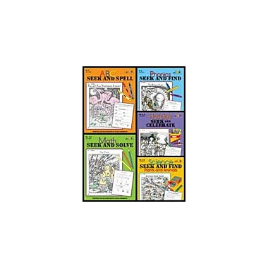 Teaching and Learning Company Seek and Find Bundle (Five Enhanceds) Workbook, Kindergarten - Grade 4 [Enhanced eBook]