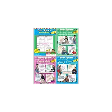 Teaching and Learning Company Four Square Writing Bundle Grades 1-3 Language Arts Workbook, Grade 1 - Grade 3 [Enhanced eBook]