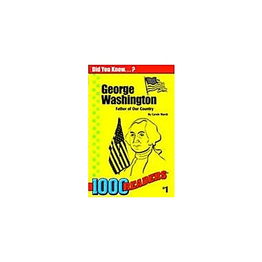 Gallopade International George Washington: Father of Our Country History Workbook, Kindergarten - Grade 4 [eBook]