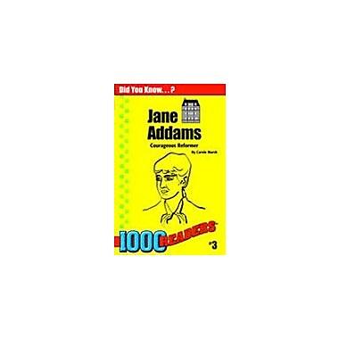 Gallopade International Jane Addams: Courageous Reformer History Workbook, Kindergarten - Grade 4 [eBook]