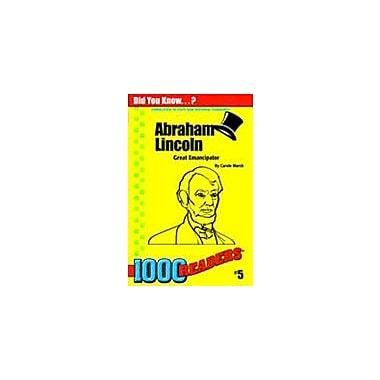 Gallopade International Abraham Lincoln: Great Emancipator History Workbook, Kindergarten - Grade 4 [eBook]
