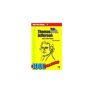 Gallopade International Thomas Jefferson: Man of the People History Workbook, Kindergarten - Grade 4 [eBook]