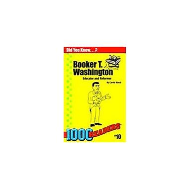Gallopade International Booker T Washington: Educator and Reformer History Workbook, Kindergarten - Grade 4 [eBook]