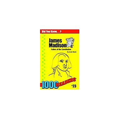 Gallopade International James Madison: Father of the Constitution History Workbook, Kindergarten - Grade 4 [eBook]