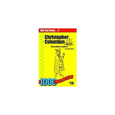 Gallopade International Christopher Columbus: Extraordinary Explorer History Workbook, Kindergarten - Grade 4 [eBook]