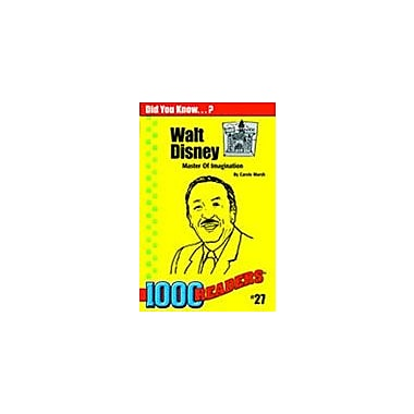 Gallopade International Walt Disney: Master of Imagination History Workbook, Kindergarten - Grade 4 [eBook]