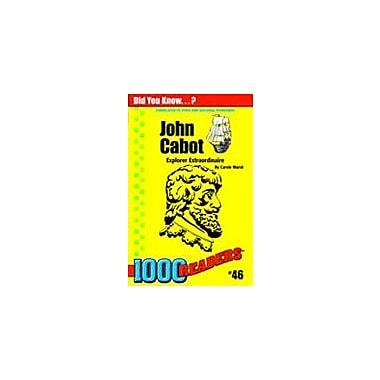 Gallopade International John Cabot: Explorer Extaordinaire History Workbook, Kindergarten - Grade 4 [eBook]