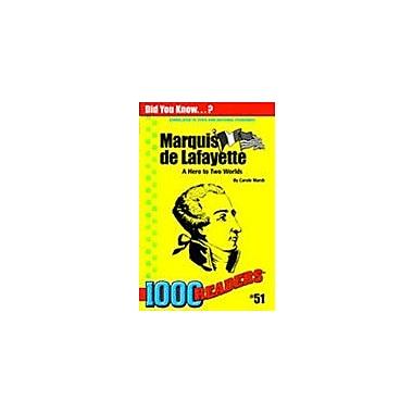 Gallopade International Marquis De Lafayette: A Hero to Two Worlds History Workbook, Kindergarten - Grade 4 [eBook]