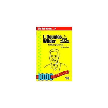Gallopade International L Douglas Wilder: Trailblazer Governor History Workbook, Kindergarten - Grade 4 [eBook]