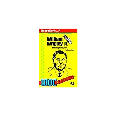 Gallopade International William Wrigley, Jr: Chewing Gum Giant History Workbook, Kindergarten - Grade 4 [eBook]