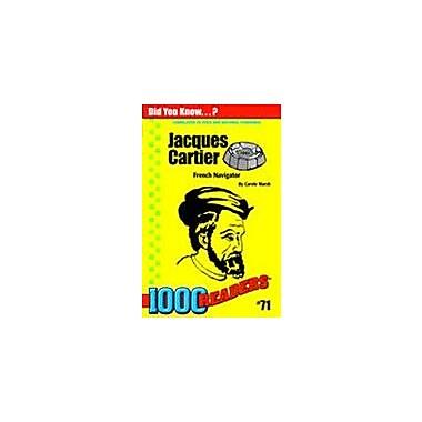 Gallopade International Jacques Cartier: French Navigator History Workbook, Kindergarten - Grade 4 [eBook]