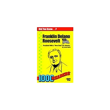 Gallopade International Franklin D. Roosevelt: America's New Deal President History Workbook, Kindergarten - Grade 4 [eBook]