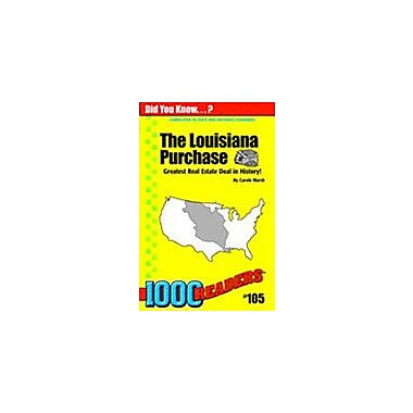 Gallopade International Louisiana Purchase History Workbook, Kindergarten - Grade 4 [eBook]