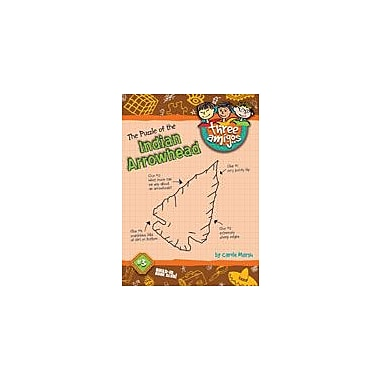 Gallopade International The Puzzle of the Indian Arrowhead Reading & Writing Workbook, Grade 1 - Grade 3 [eBook]