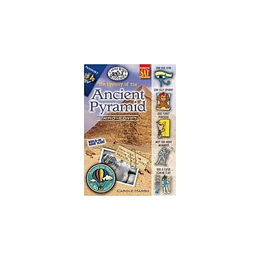 Gallopade International The Mystery At the Ancient Pyramid (Cairo, Egypt) Reading & Writing Workbook, Grade 3 - Grade 6 [eBook]