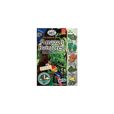 Gallopade International The Mystery In the Amazon Rainforest (South America) Workbook, Grade 3 - Grade 6 [eBook]