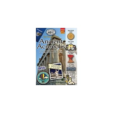 Gallopade International The Curse of the Ancient Acropolis (Athens, Greece) Workbook, Grade 3 - Grade 6 [eBook]