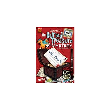 Gallopade International Dear Pirate: the Buried Treasure Mystery Reading & Writing Workbook, Grade 3 - Grade 6 [eBook]
