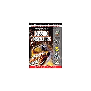 Gallopade International The Mystery of the Missing Dinosaurs Reading & Writing Workbook, Grade 3 - Grade 6 [eBook]