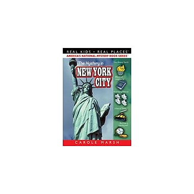 Gallopade International The Mystery In New York City Reading & Writing Workbook, Grade 3 - Grade 6 [eBook]