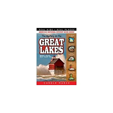 Gallopade International The Mystery On the Great Lakes Reading & Writing Workbook, Grade 3 - Grade 6 [eBook]