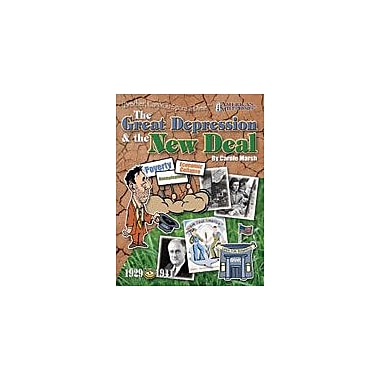Gallopade International Great Depression & the New Deal: Brother, Can You Spare A Dime? Workbook, Grade 4 - Grade 12 [eBook]