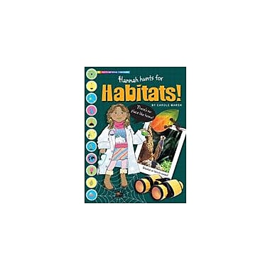 Gallopade International Hannah Hunts For Habitats Science Workbook, Grade 2 - Grade 7 [eBook]