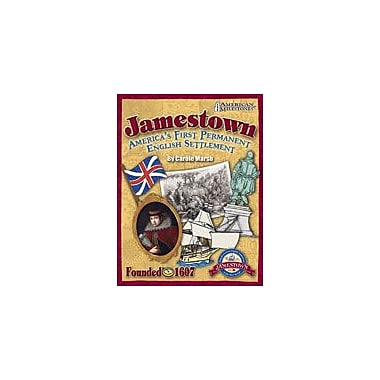 Gallopade International Jamestown: America's First Permanent English Settlement History Workbook, Grade 4 - Grade 12 [eBook]